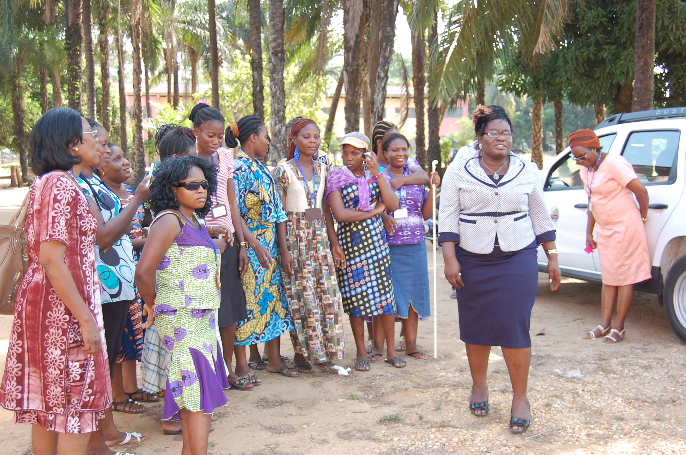 Groupe de femmes du Bénin